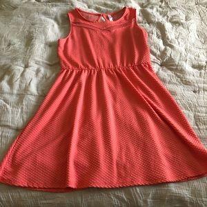 Large Pink Dress